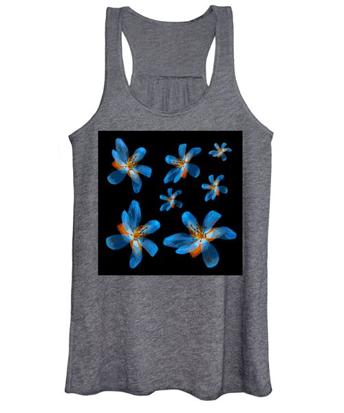 Study Of Seven Flowers #2 Women's Tank Top