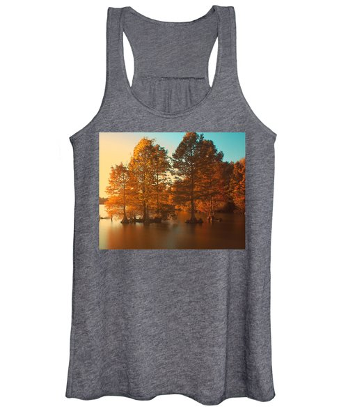 Women's Tank Top featuring the photograph Stumpy Sunset by Pete Federico