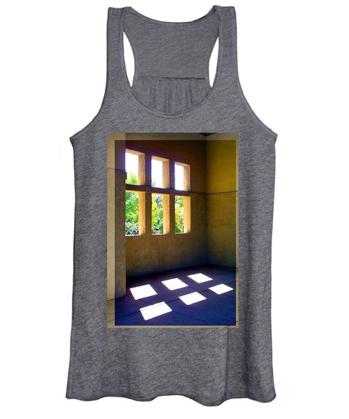 Sun Thru Windows Adobe Architecture Women's Tank Top