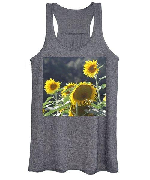 Sunflower Cluster 2 Women's Tank Top