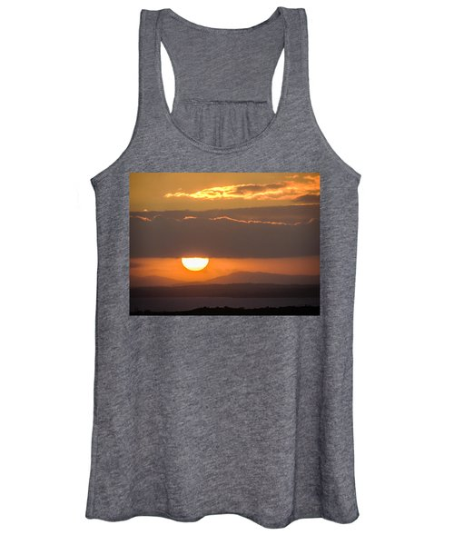Sunrise Over River Shannon Women's Tank Top