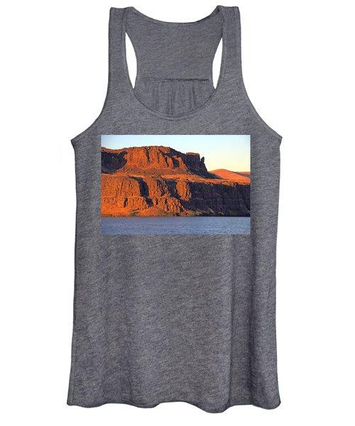 Sunset Cliffs At Horsethief  Women's Tank Top