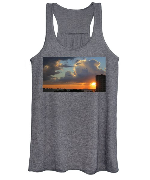 Sunset Shower Sarasota Women's Tank Top