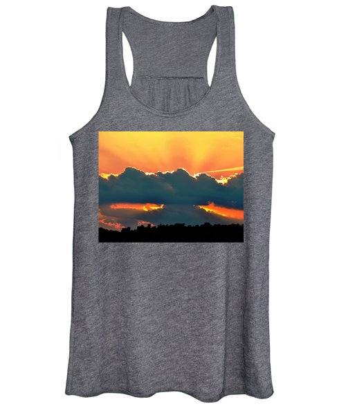Sunset Over Southern Ohio Women's Tank Top
