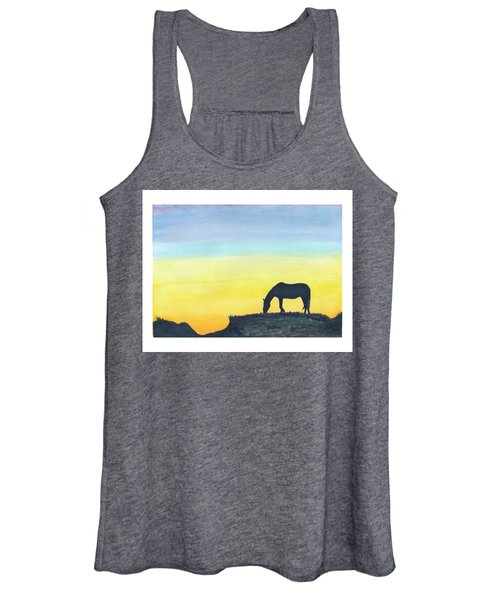 Sunset Silhouette Women's Tank Top
