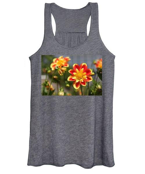 Sunshine Flower Women's Tank Top