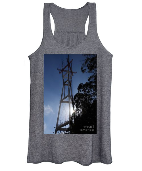 Sutro Tower San Francisco California 5d28096 Women's Tank Top