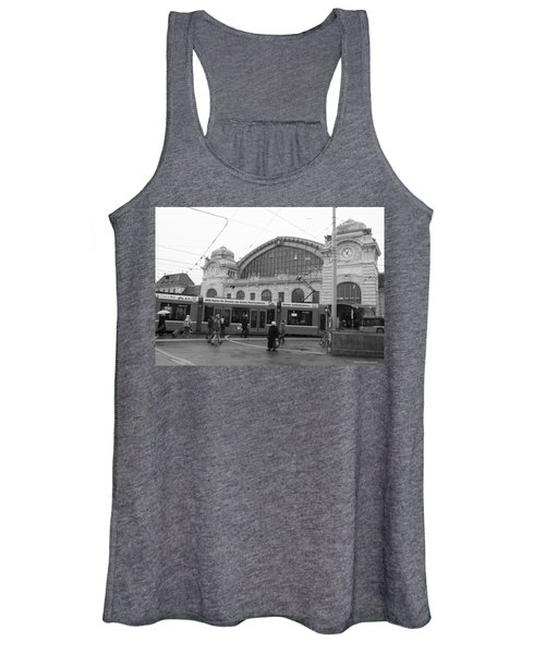 Swiss Railway Station Women's Tank Top