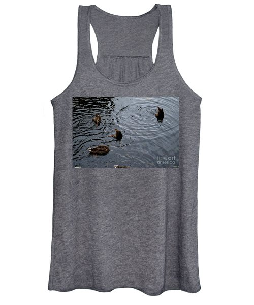 Synchronised Swimming Team Women's Tank Top