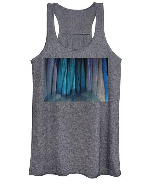 Tail Of Rainbow Parrotfish Women's Tank Top
