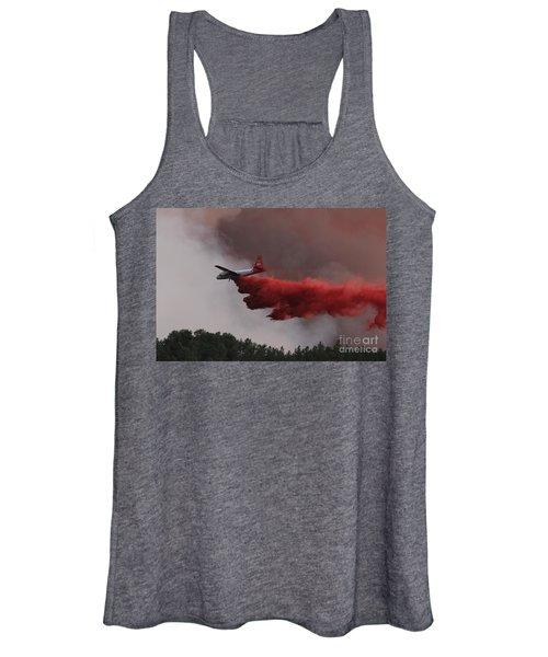 Tanker 07 Drops On The Myrtle Fire Women's Tank Top
