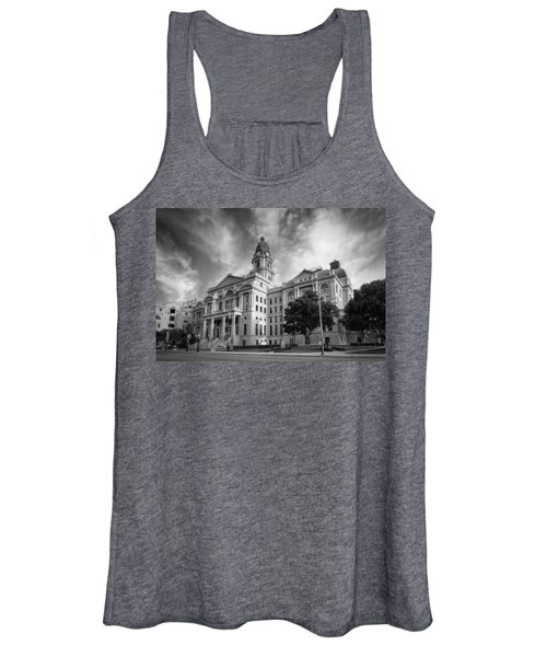 Tarrant County Courthouse Bw Women's Tank Top