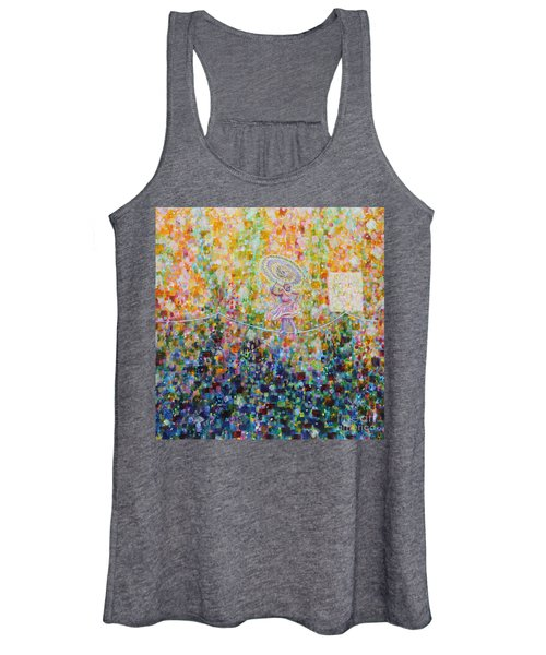 Temple Dance-tightrope  Women's Tank Top