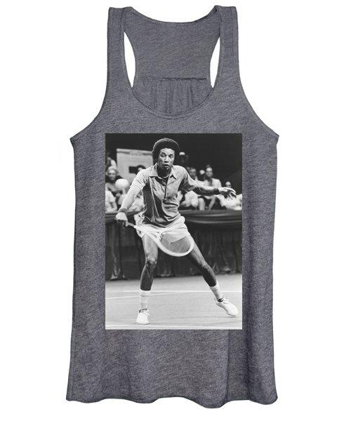 Tennis Champion Arthur Ashe Women's Tank Top