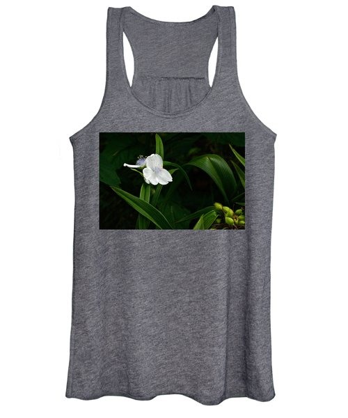 The Amazing Range Of Floral Architecture Women's Tank Top