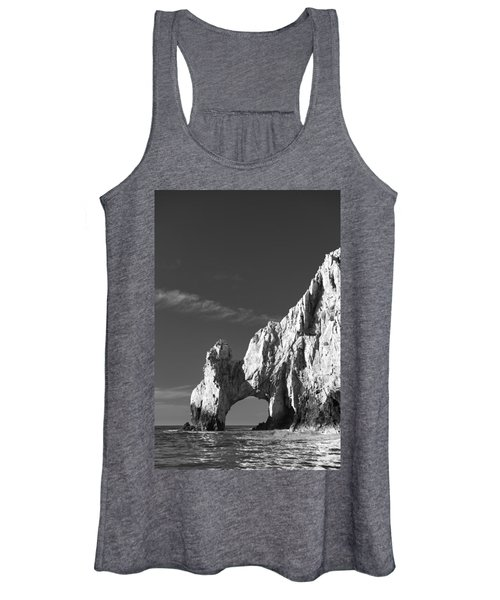 The Arch In Black And White Women's Tank Top
