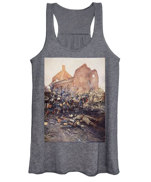 The Assualt Of Vermelles, 1915 Women's Tank Top