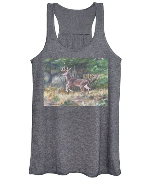The Chase Is On Women's Tank Top