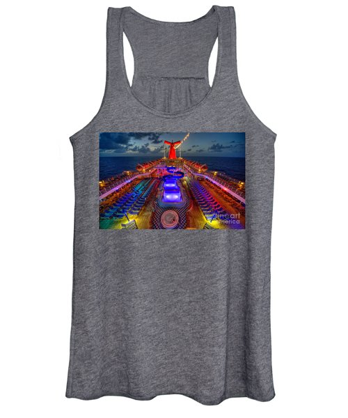 The Cruise Lights At Night Women's Tank Top