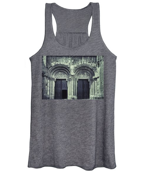 The Facade Of The Silverware  Women's Tank Top