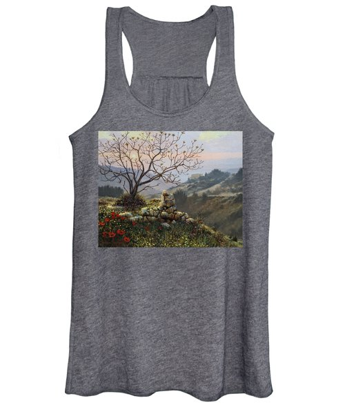 The Fig Tree   Mt Carmel Women's Tank Top