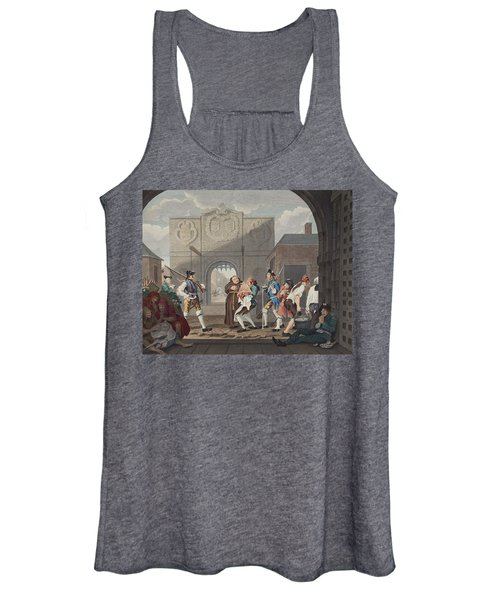 The Gate Of Calais, Or O The Roast Beef Women's Tank Top