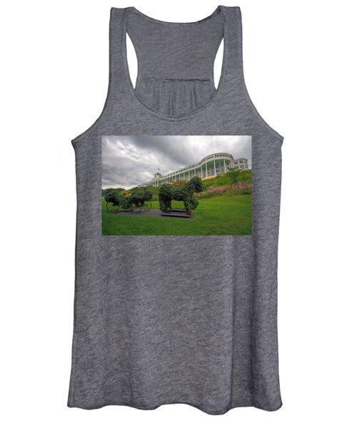 The Grand Hotel Mackinac Island Women's Tank Top