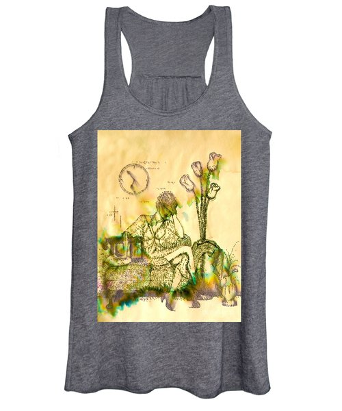 The Hold Up Sepia Tone Women's Tank Top