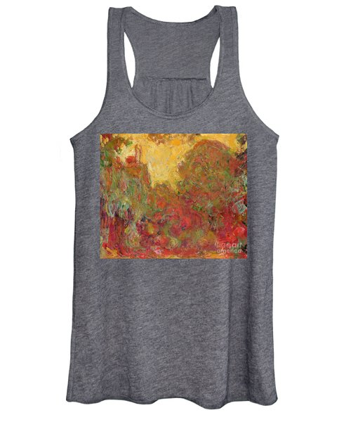 The House Seen From The Rose Garden Women's Tank Top