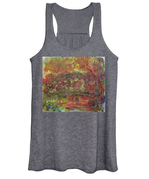 The Japanese Bridge, 1918-24 See Detail 414403 Oil On Canvas Women's Tank Top