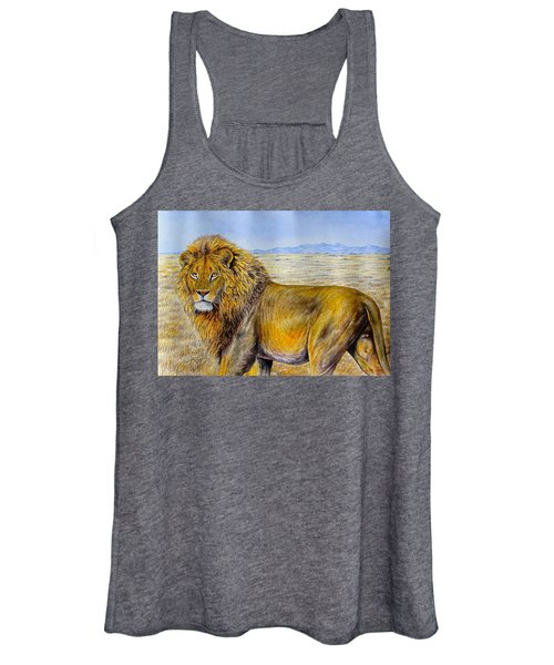 The Lion Rules Women's Tank Top