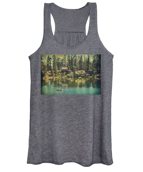 The Old Days By The Lake Women's Tank Top