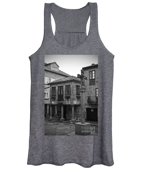 The Old Firewood Marketplace Bw Women's Tank Top