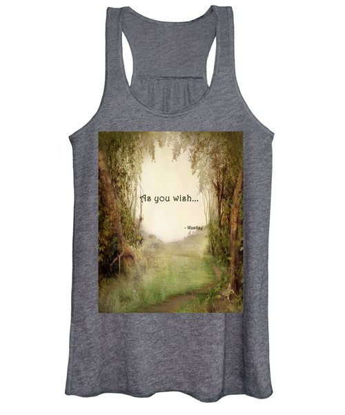 The Princess Bride - As You Wish Women's Tank Top