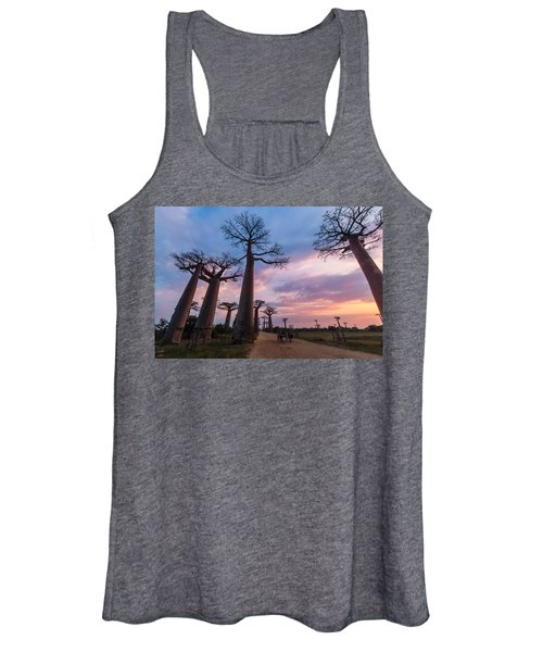 The Road To Morondava Women's Tank Top