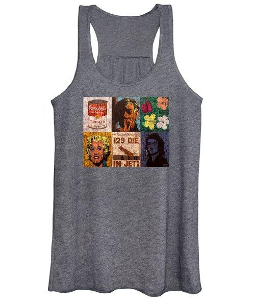 The Six Warhol's Women's Tank Top