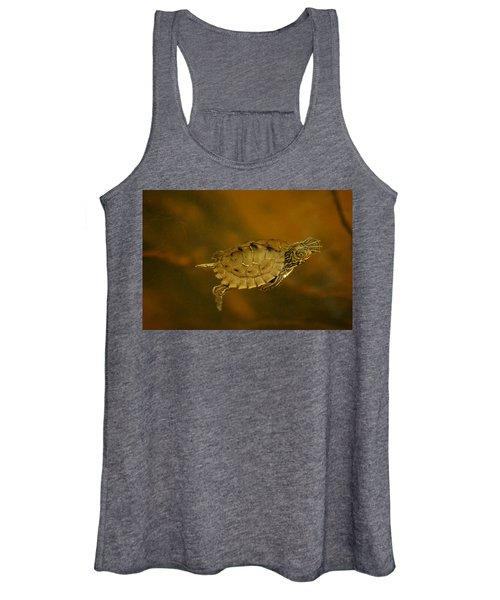The Southeastern Map Turtle Women's Tank Top