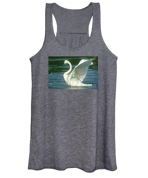 The Swan Rises  Women's Tank Top