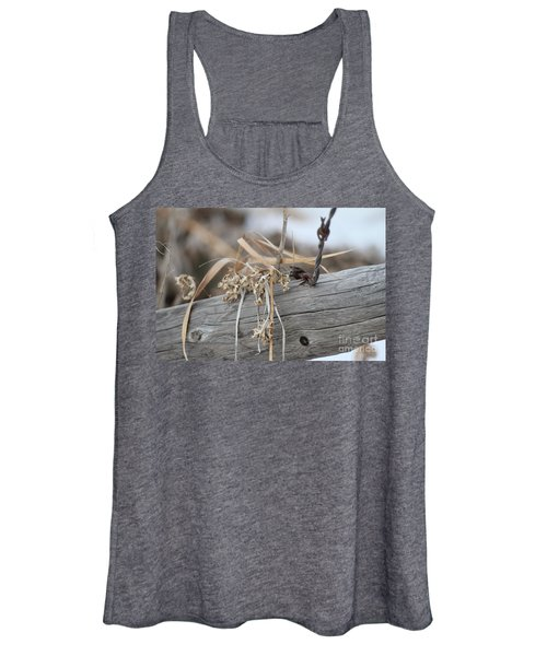 Thistles And Barbed Wire Women's Tank Top