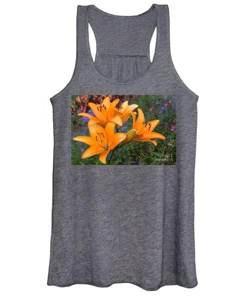 Tiger Lilies Women's Tank Top