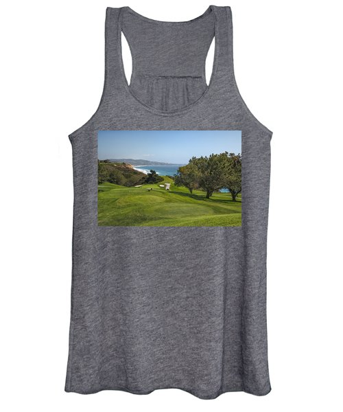 Torrey Pines Golf Course North 6th Hole Women's Tank Top
