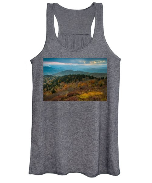Touch Of Yellow Women's Tank Top