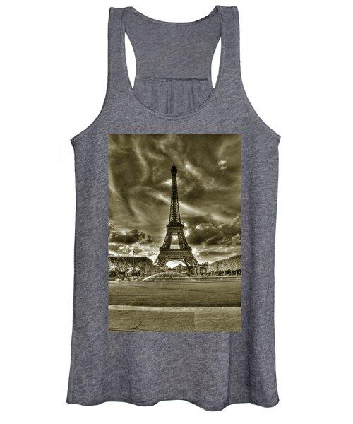Tour Eiffel  Women's Tank Top
