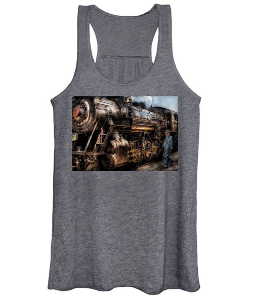 Train - Engine -  Now Boarding Women's Tank Top