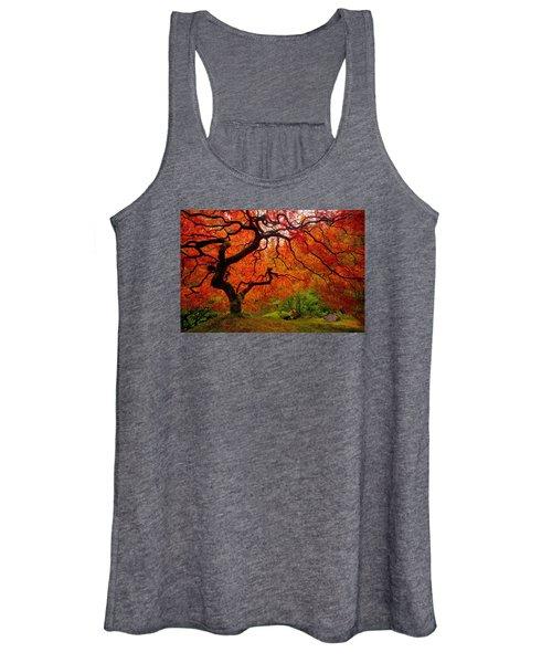 Tree Fire Women's Tank Top