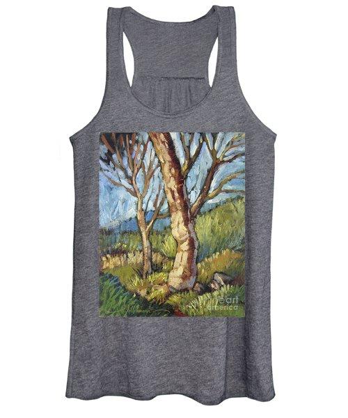 Trees In Spring Women's Tank Top