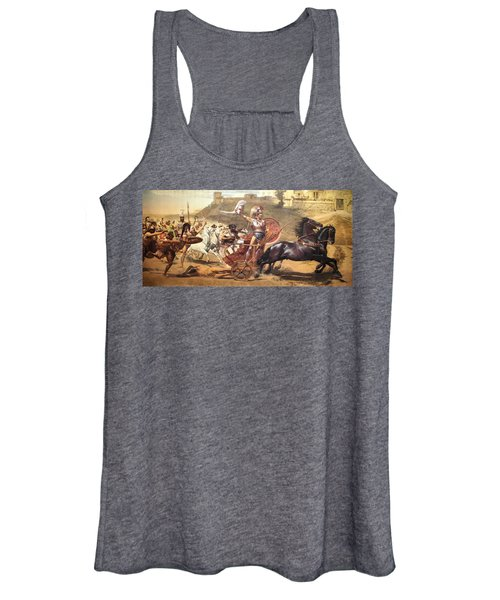 Triumphant Achilles Women's Tank Top