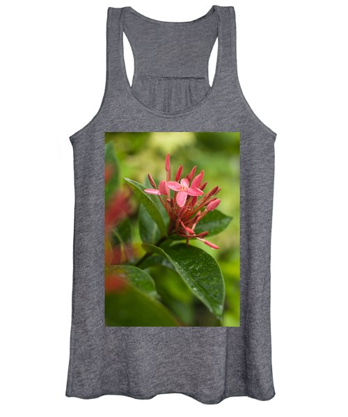 Tropical Flowers In Singapore Women's Tank Top