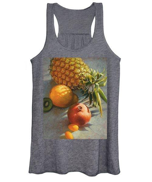 Tropical Fruit Women's Tank Top