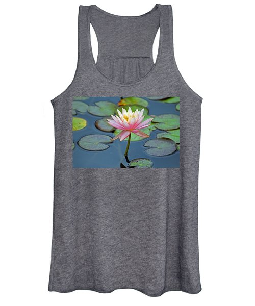 Tropical Pink Lily Women's Tank Top
